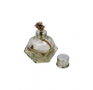 "4 1/2"" Glass Alcohol Spirit Lamp Burner with 1/2"" Wick,  Watchmakers, Craft Work, Science. S7546"